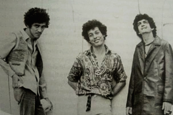 L-R Moraes Moreira, Luiz Galvão, Paulinho Boca De Cantor, 1969